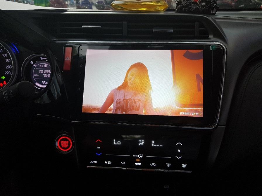 Màn Hình DVD Xe Honda City