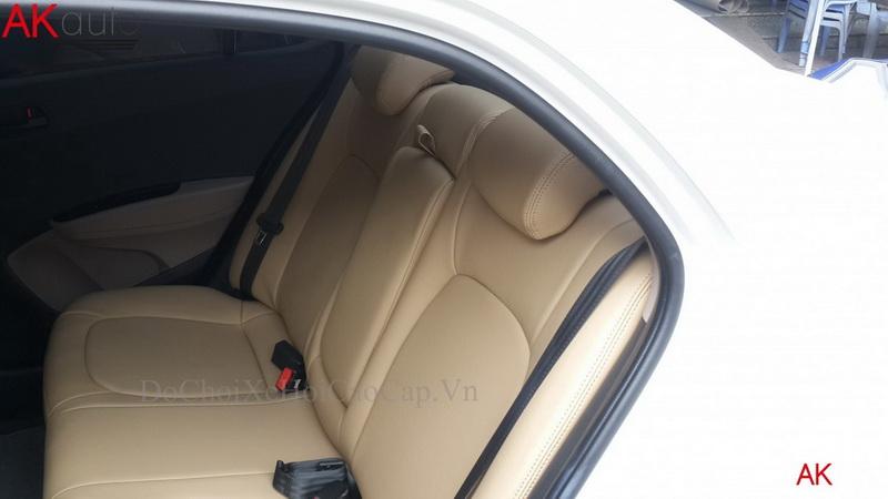 Bọc Ghế Da Xe Hyundai Grand I10