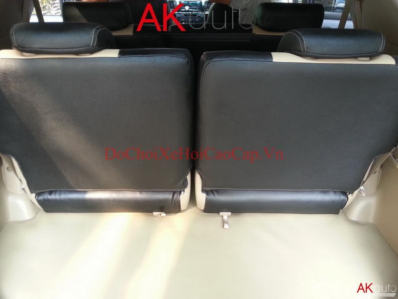 Bọc ghế da xe Toyota Fortuner