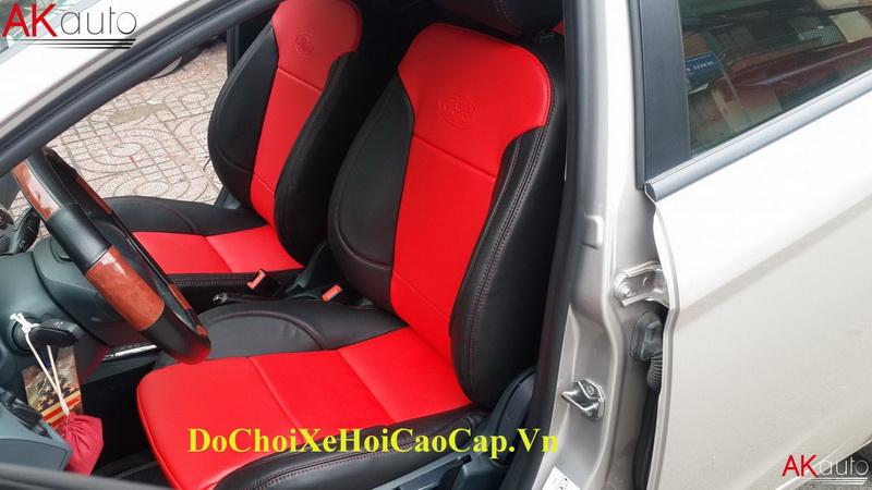 Bọc nệm ghế da xe Ford Fiesta