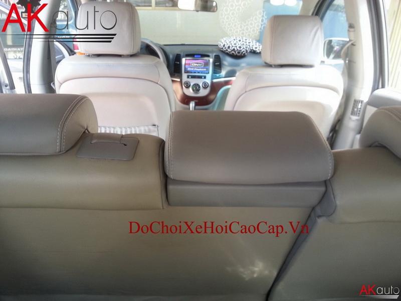 Bọc nệm ghế da xe Hyundai Santafe