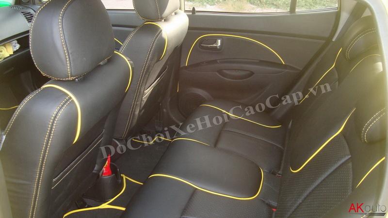 Bọc nệm ghế da xe Kia Morning