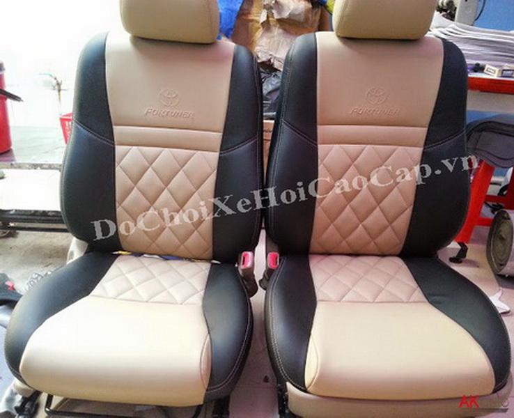 Bọc nệm ghế da xe Toyota Fortuner