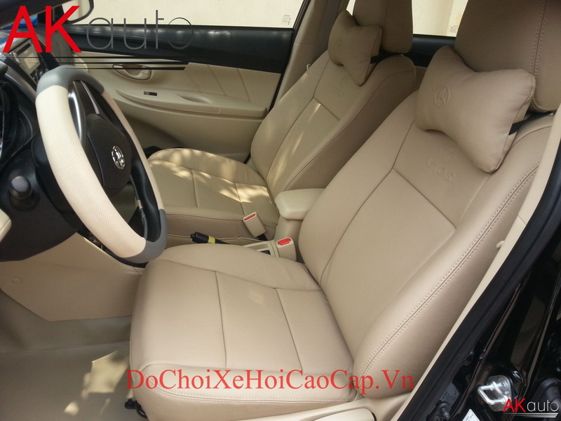 Bọc nệm ghế da xe Toyota Vios