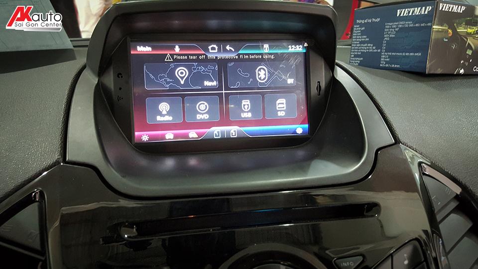 Màn hình DVD xe Ford Ecosport 2017