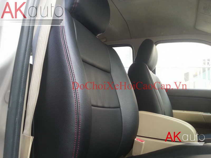 May nệm ghế da xe Ford Everest