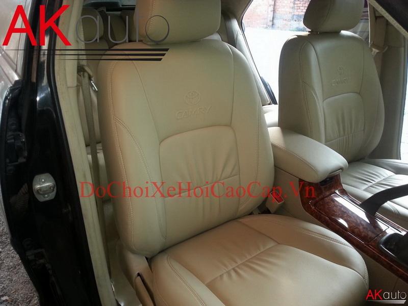May nệm ghế da xe Toyota Camry