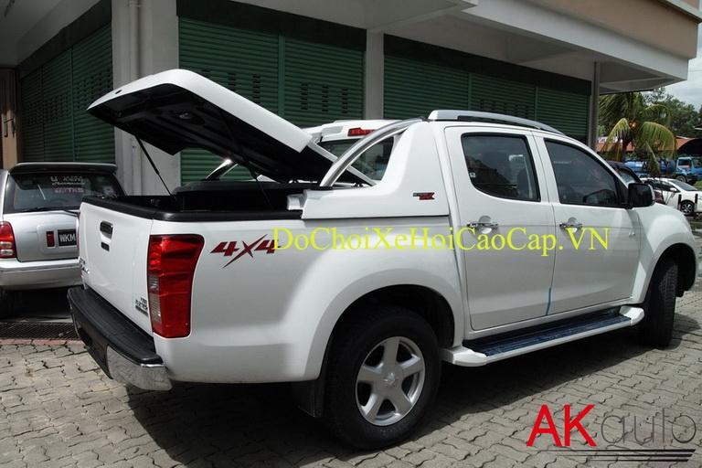 Nắp thùng canopy GRX cho xe bán tải Ford Ranger