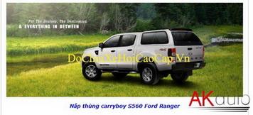 Nắp thùng Canopy S560N xe bán tải Ford Ranger