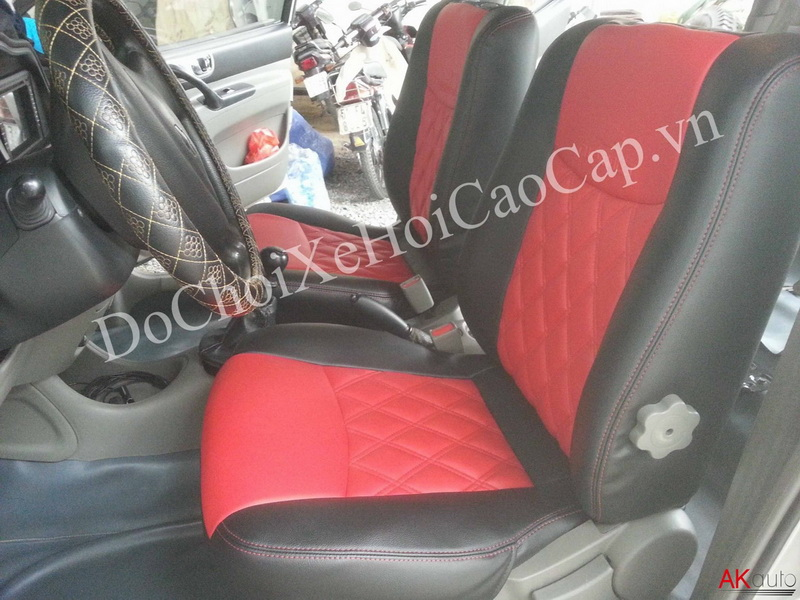 Nệm ghế da xe Chevrolet Vivant