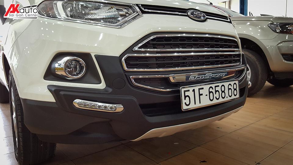 Ốp cản trước và cản sau xe EcoSport 2017