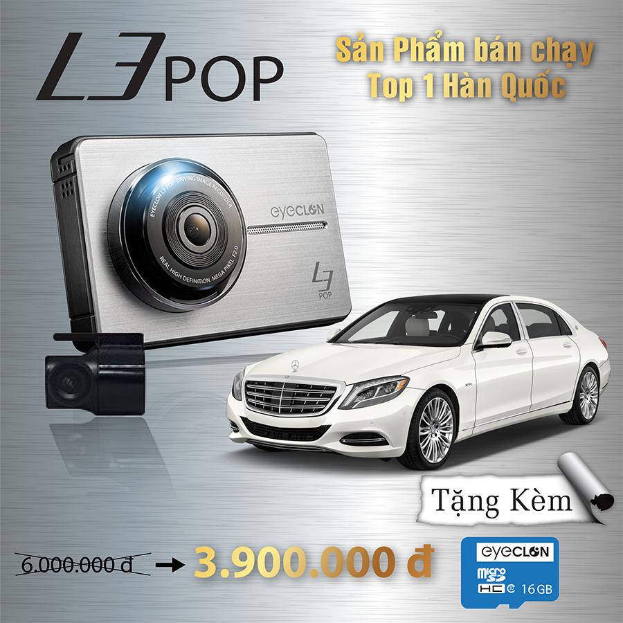 Camera hành trình ô tô cao cấp 100% Hàn Quốc