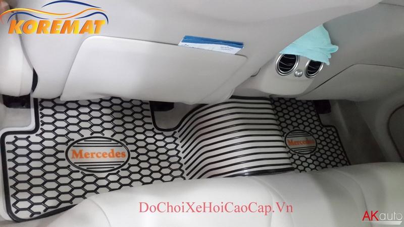 Thảm Lót Chân Sàn Xe Mercedes C Class