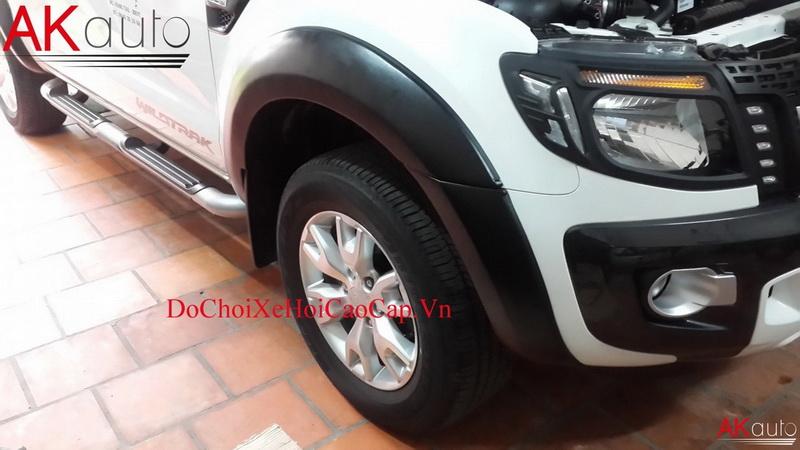 Viền cua bánh xe bán tải Ford Ranger
